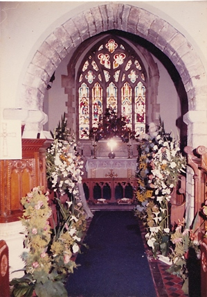 1982 church flower festival1