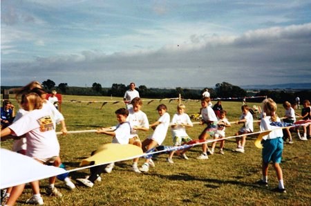 St Hilary 900 Tug o War