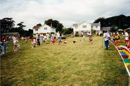 St hilary 900 chuildrens races Green